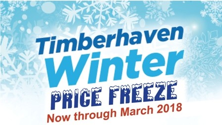 Timberhaven Releases Winter Price Freeze Program