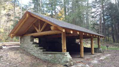 Timber Frame Pavilion Timberhaven Log Amp Timber Homes