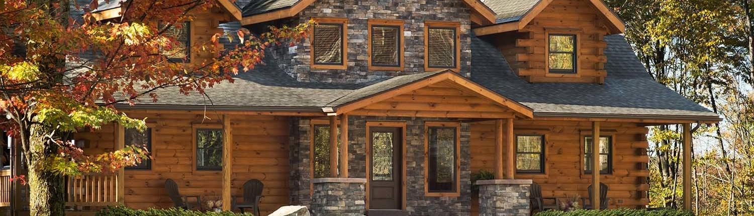 Home timberhaven log timber homes for Log cabin packages for sale