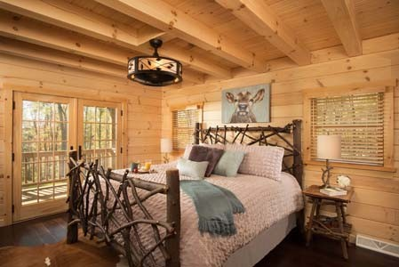 Bedrooms Baths Timberhaven Log Timber Homes Cool Log Home Bedrooms