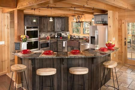 Kitchens & Dining - Timberhaven Log & Timber Homes