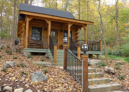 Small Timberhaven Log Cabin