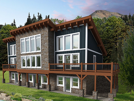 Lake Augusta: Announcing Our New Timber Frame Design