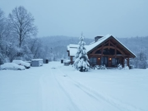 power outages, preparing for winter, log homes, log home living, Timberhaven