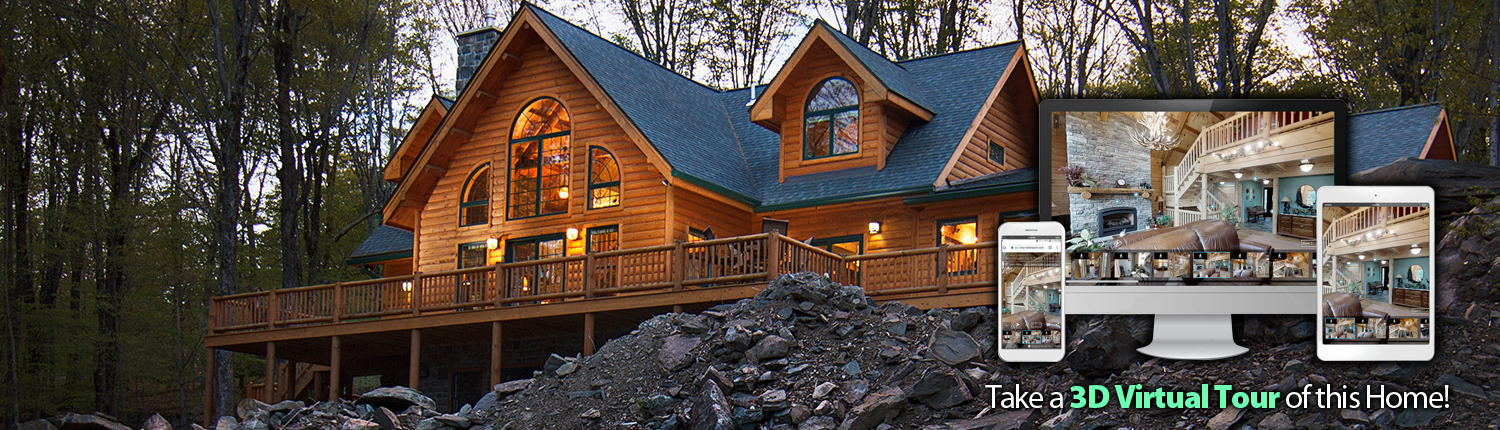 Log Home 3D Virtual Tour