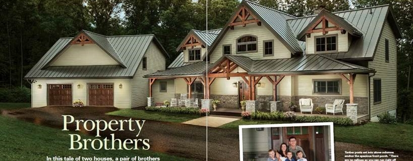 Timber Frame Home Feature