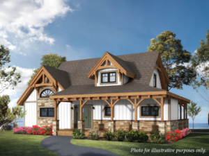 Cottage design, feature hybrid home, cottage, cottage hybrid home, timber accents, hybrid home with timber accents, Timberhaven, hybrid home packages