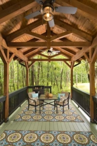 2020 spring feature, timber frame pavilion, timber pavilion, outdoor wooden structures, Timberhaven, easy to assemble pavilions, outdoor living