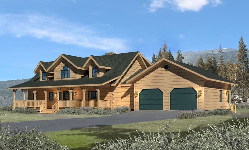 Chesapeake-II,Timberhaven Log Home,3 Bedrooms,2 Bathrooms