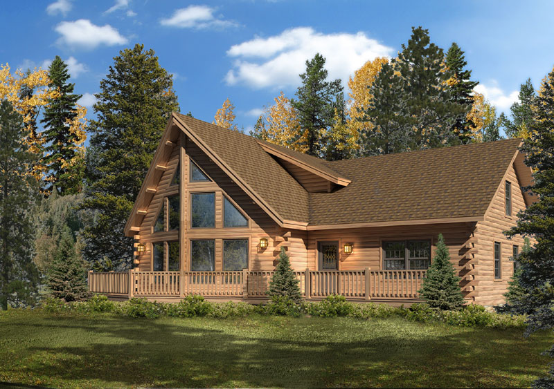 Alpine,Timberhaven Log Home,3 Bedrooms,2 Bathrooms