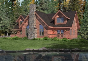 Brookside-II,Timberhaven Log Home,3 Bedrooms,2 Bathrooms