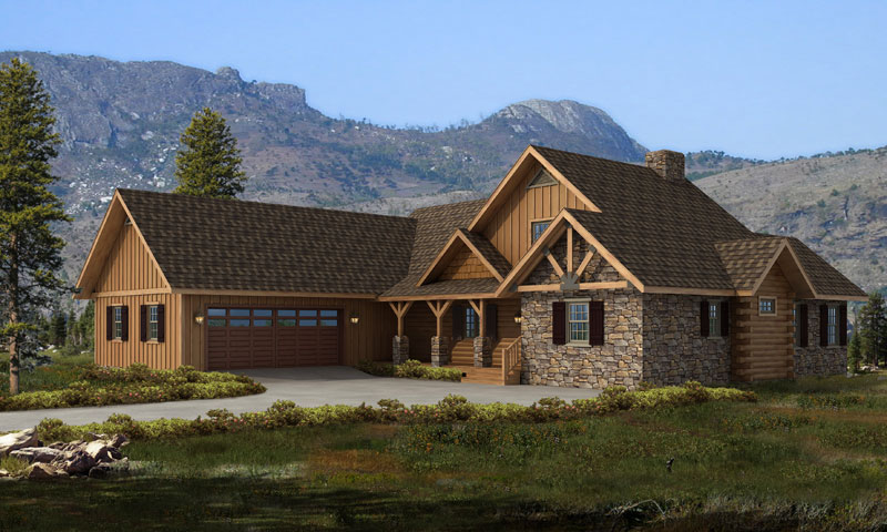 Bridgeport Hybrid Timberhaven Log Amp Timber Homes