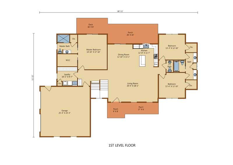 Sullivan,Timberhaven Log Home,3 Bedrooms,2 Bathrooms