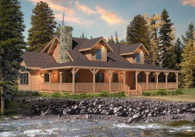 Meadow-View-II,Timberhaven Log Home,3 Bedrooms,2 Bathrooms