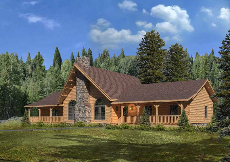 Lakeside-III,Timberhaven Log Home,3 Bedrooms,1 Bathroom