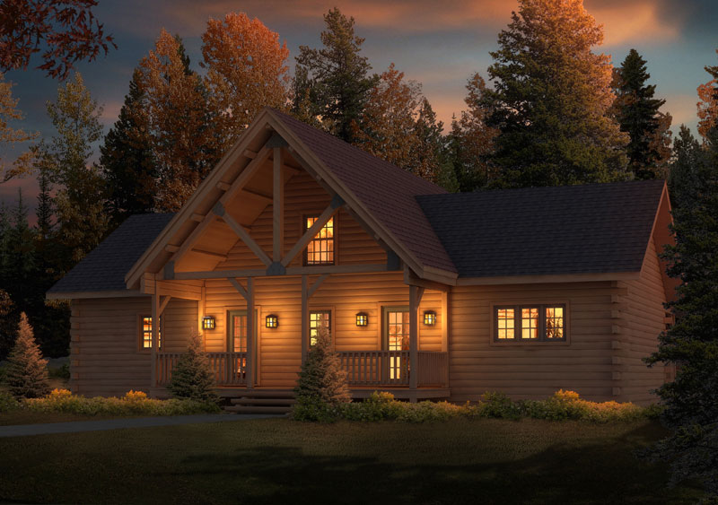 Brookside-I,Timberhaven Log Home,1 Bedroom,1 Bathroom