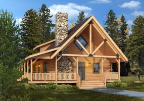 Clear-Creek,Timberhaven Log Home,3 Bedrooms,3 Bathrooms