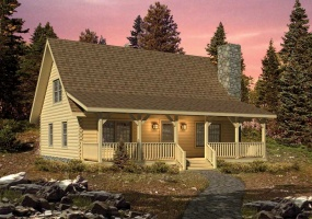 Valley-View-II,Timberhaven Log Home,2 Bedrooms,1 Bathroom