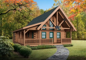Eagle-Rock,Timberhaven Log Home,3 Bedrooms,1 Bathroom