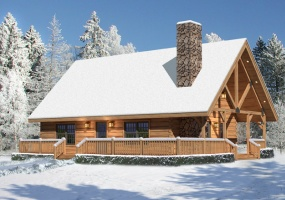 Valley-View1,Timberhaven Log Home,3 Bedrooms,2 Bathrooms