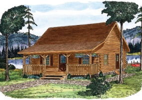 Juniata ,Timberhaven Log Home,2 Bedrooms,1 Bathroom