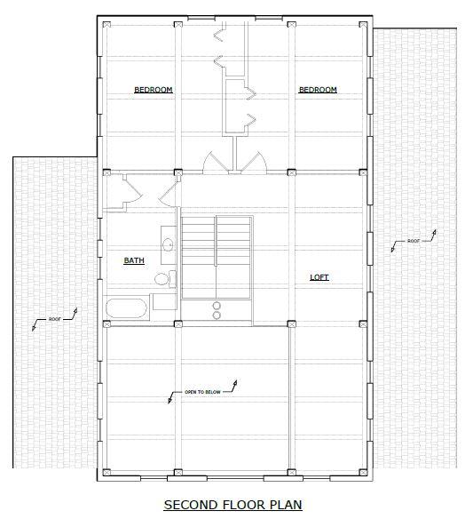 Brackney Timber Frame Second Floor